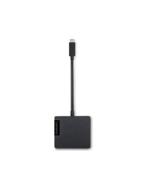 ADAPTADOR DE CONEXION LENOVO 4X90M60789 - RJ-45 - HDMI - VGA - USB TIPO C