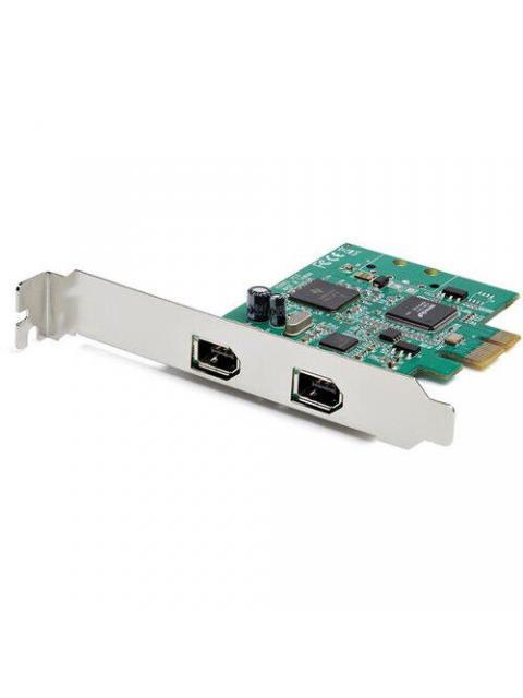 ADAPTADOR TARJETA STARTECH  PEX1394A2V2 - 2 PUERTOS - 6 PINES - PCI EXPRESS A FIREWIRE