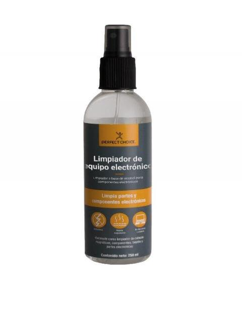 ALCOHOL LIMPIADOR PERFECT CHOICE PC-034117 - 250 ML - PARA COMPONENTES ELECTRONICOS