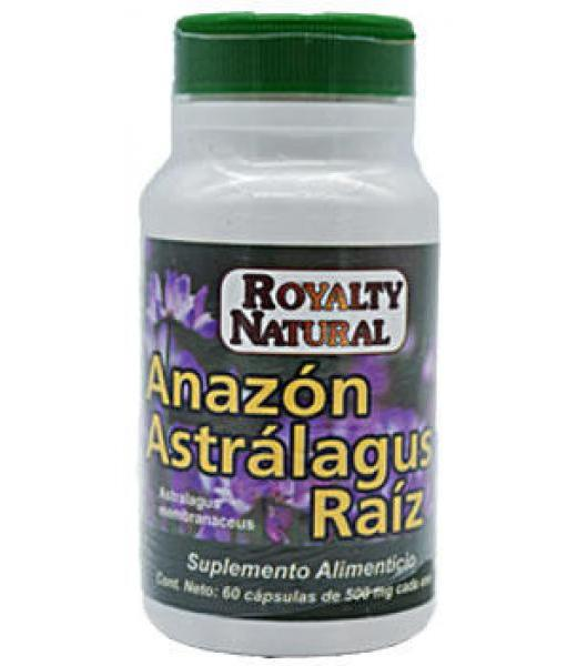 ASTRAGALUZ RAIZ 500 MG 60 CAP ROYALTY NATURAL