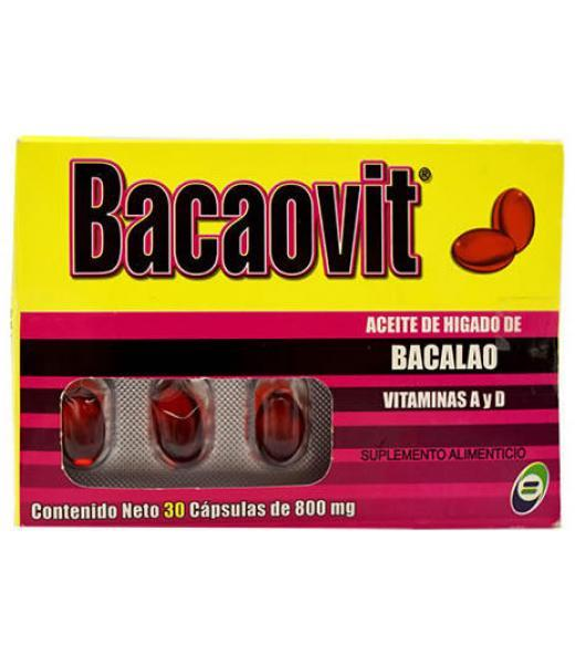 BACAOVIT 30 CAP BQM