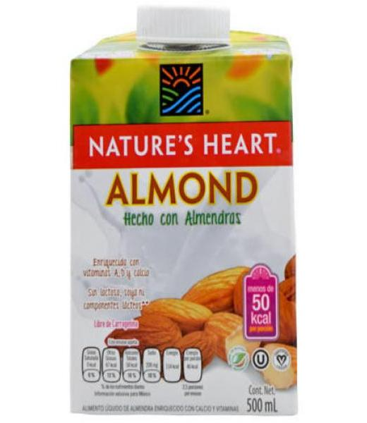 BEBIDA DE ALMENDRA 500 ML NATURES HEART
