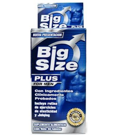 BIG SIZE FOR MEN 60 TAB GN + VIDA