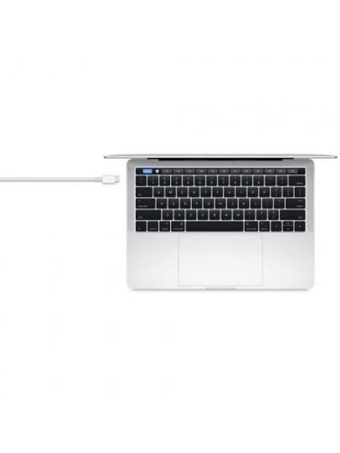CABLE USB APPLE MQ4H2AM-A - THUNDERBOLT 3 - 80 CM - BLANCO