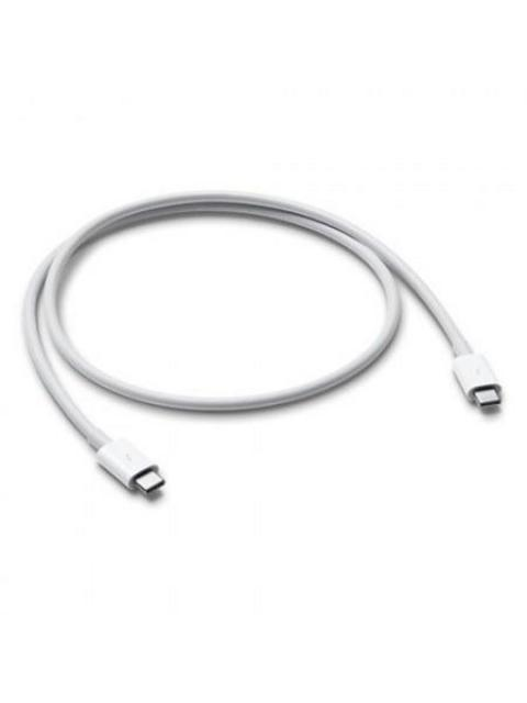 CABLE USB APPLE MQ4H2AM-A - THUNDERBOLT 3 - 80 CM - BLANCO