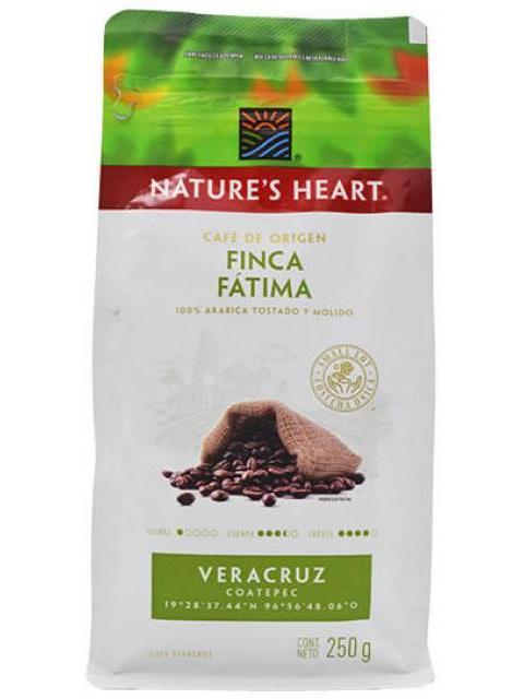 CAFE FINCA FATIMA 250 G NATURES HEART