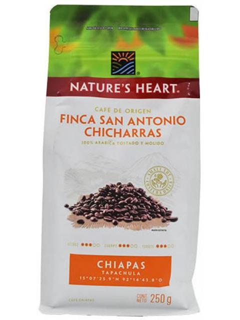 CAFE FINCA SAN ANTONIO 250 G NATURES HEART