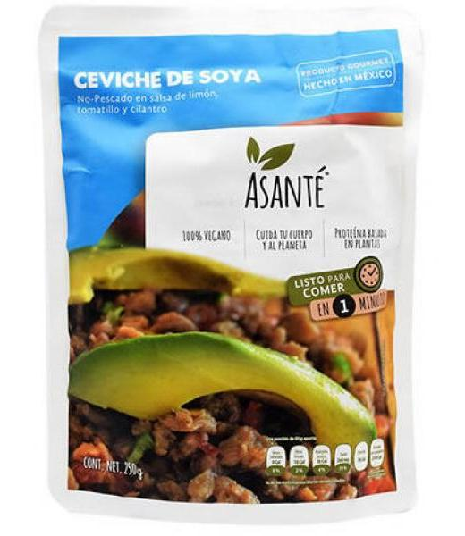 CEVICHE DE SOYA 250 G ASANTE