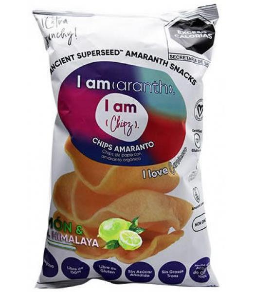 CHIPS CON AMARANTO SAB LIMON 100 G I AMARANTH C 12