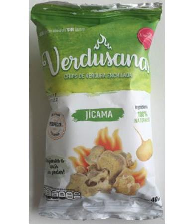 CHIPS DE JICAMA ENCHILADA 40 G VERDUSANAS