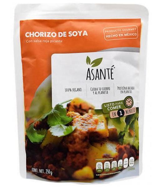 CHORIZO DE SOYA 250 G ASANTE