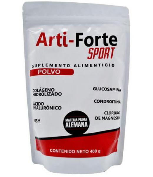 COLAGENO ARTI FORTE SPORT 400 G GRUPO RA