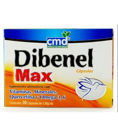 DIBENEL MAX 30 CAP CMD