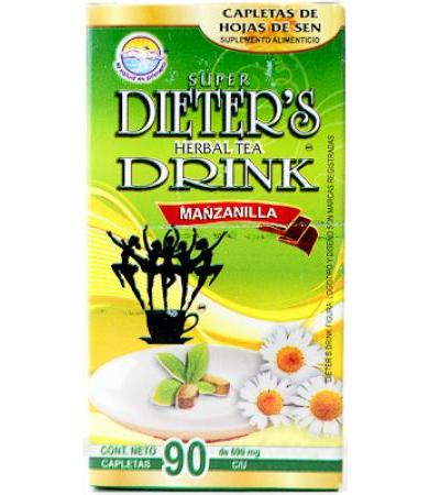 DIETERS DRINK MANZANILLA 90 CAPLETAS DIETERS DRINK