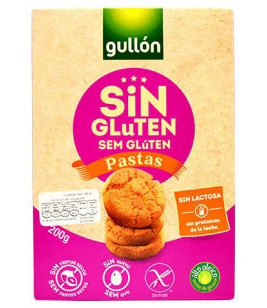 GALLETAS PASTAS 200 G SIN GLUTEN GULLON