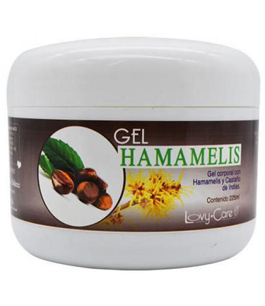 GEL CORPORAL HAMAMELIS 225ML LOVY CARE