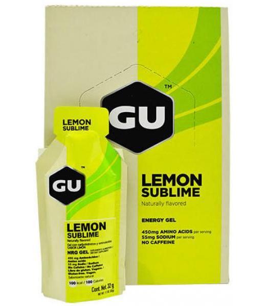 GEL GU ENERGY SABOR LIMON 32 G GU