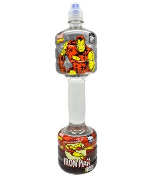 GYM WATER IRON MAN AGUA ALCALINA 1 LITRO GYM WATER