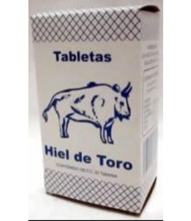 HIEL DE TORO 30 TAB YERBO VITAL