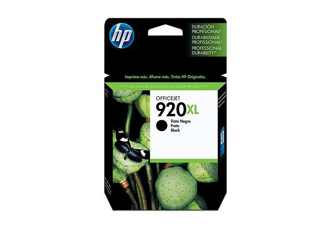 CARTUCHO DE TINTA HP OFFICEJET 920XL (CD975AL) - NEGRA