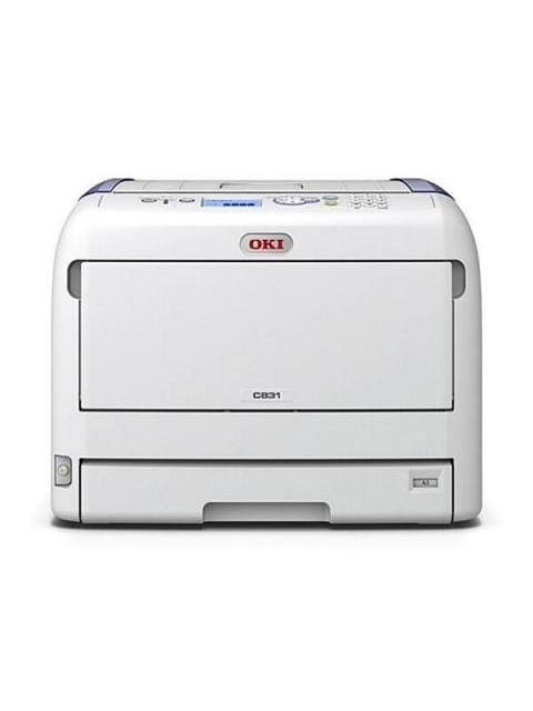 IMPRESORA OKI C831N - COLOR HD - 35PPM - TABLOIDE - 20PPM - USB - RED 2.0 HV