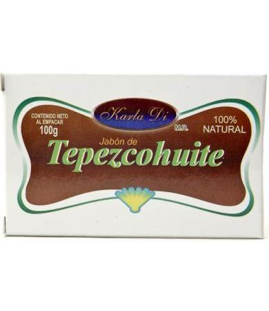 JABON DE TEPEZCOHUITE 100 G KARLA DI