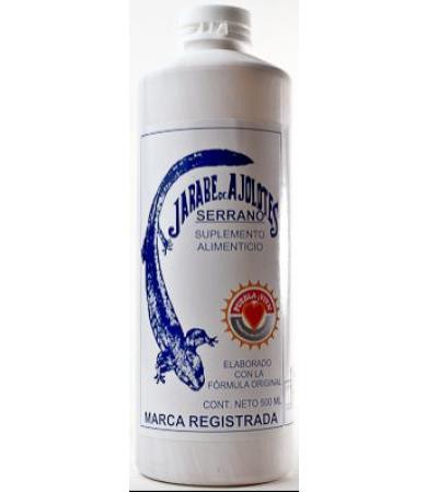 JARABE AJOLOTES SERRANO 500 ML JARABE DE AJOLOTES