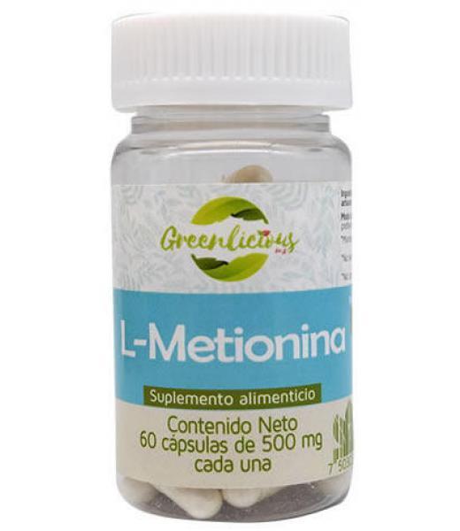 L METIONINA 60 CAP GREENLICIOUS MX