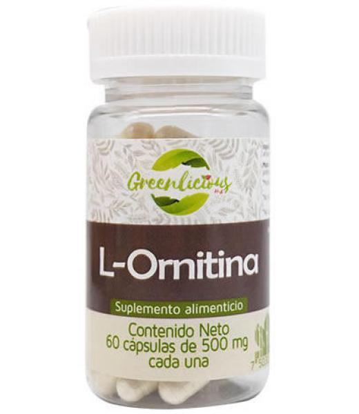 L ORNITINA 60 CAP GREENLICIOUS MX