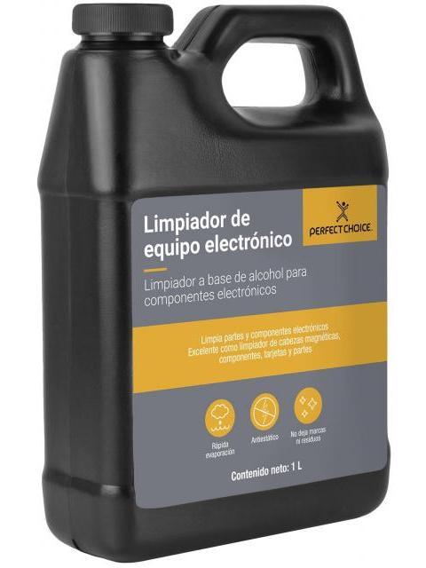 LIMPIADOR DE ALCOHOL PERFECT CHOICE PC-034124 - PARA COMPONENTES ELECTRONICOS - 1 LITRO