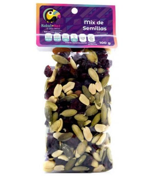 MIX DE SEMILLAS 100 G KUKUL NAT