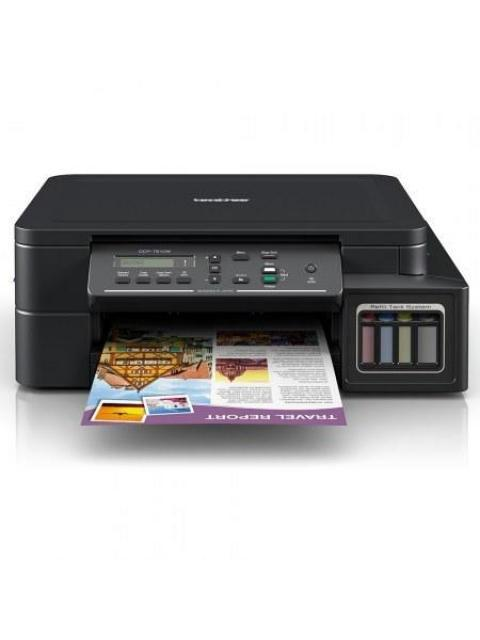 MULTIFUNCIONAL BROTHER DCP-T510W - 27PPM NEGRO - 10PPM COLOR - TINTA CONTINUA - WI-FI - USB 2.0