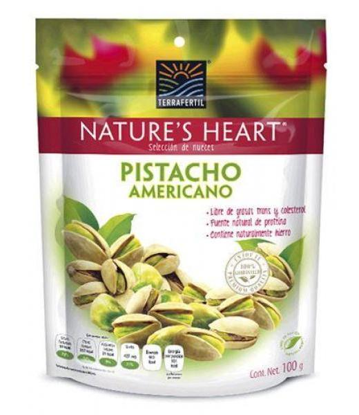 PISTACHO AMERICANO 100 G NATURES HEART