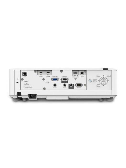 PROYECTOR EPSON POWERLITE L500W - 5000 LUMENES - 1280X800 - WXGA - USB - HDMI - MHL - ETHERNET - LASER DIODE - BLANCO