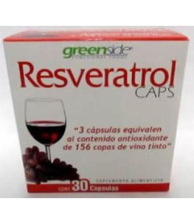 RESVERATROL 30 CAP MALABAR GREENSIDE
