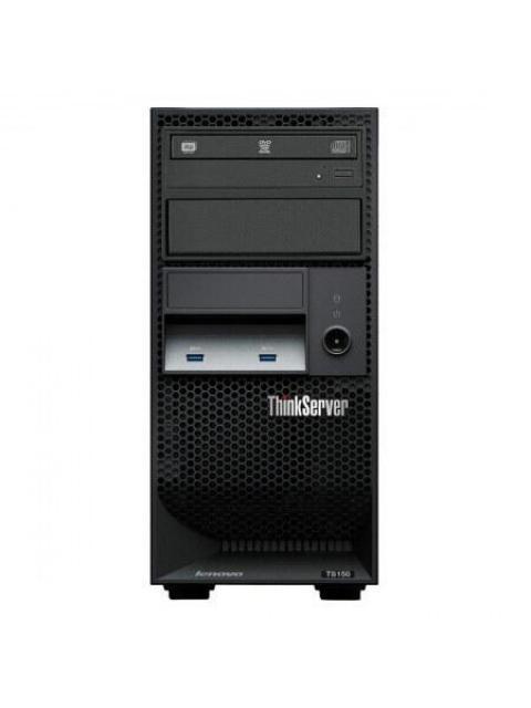 SERVIDOR LENOVO THINKSERVER TS150 - INTEL XEON E3-1205 V6 - 8GB - 1TB - DVD
