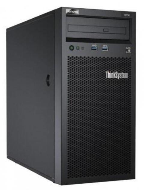 SERVIDOR LENOVO THINKSYSTEM ST50 - INTEL XEON E-2104G - 8GB - 480GB SSD - DVD - SIN SISTEMA OPERATIVO
