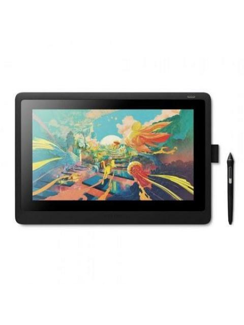 TABLETA GRAFICA WACOM CINTIQ 16 - 15.6 - 8192 PDP - 5080 LPI - USB-C - MAC-WINDOWS - NEGRO