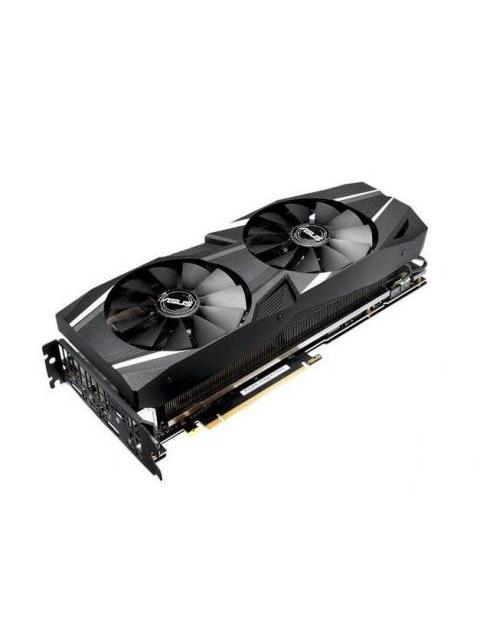TARJETA DE VIDEO ASUS DUAL GEFORCE RTX 2080 OC - 8GB - GDDR6 - 256 BIT - PCI-E 3.0 - HDMI - DISPLAY PORTS - USB TIPO-C