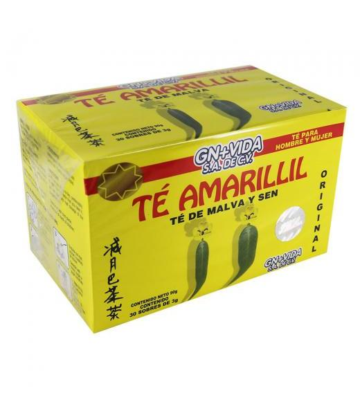 TE AMARILLIL C 30 SOB. TE DE MALVA Y SEN GN+VIDA