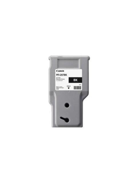 TINTA CANON PFI-207 BK - NEGRO - 300ML