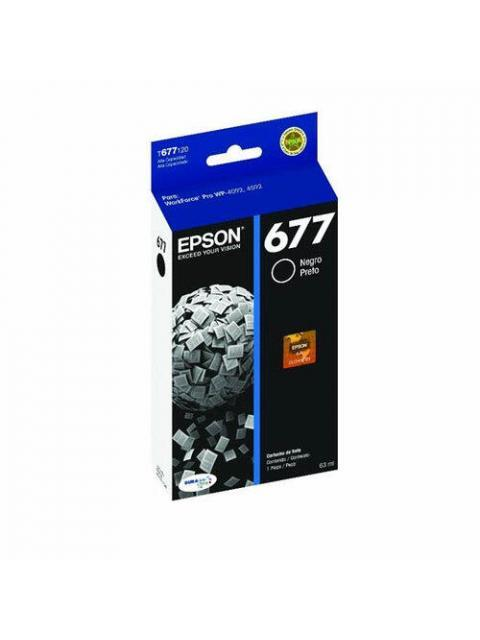 TINTA EPSON T677120-AL - NEGRA - 3400 PAGINAS