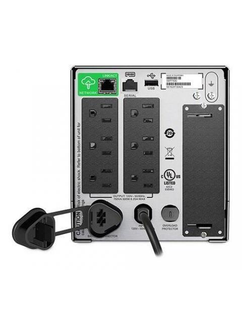 UPS APC SMART-UPS - 750VA - 500W - 6 CONTACTOS