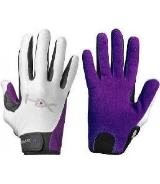 WOMENS X3 FULL FINGER GLOVES PURPLE WHITE S HUMANX